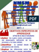 TEMA 07 - DESEMPEÑO Y CALIDAD DE PROCESOS I