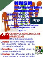 TEMA 07 - DESEMPEÑO Y CALIDAD DE PROCESOS V