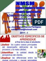 TEMA 07 - DESEMPEÑO Y CALIDAD DE PROCESOS III