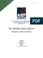 TLC Entre Chile y EE.uu, Asociado a La Mineria Chilena