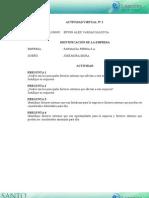 ACTIVIDAD VIRTUAL 2 ADMINISTRACIÓN DE EMPRESAS