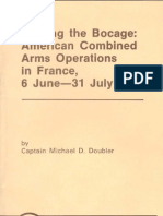 Busting the Bocage American Combined Arms Operations in France, 6 June-31 July 1944
