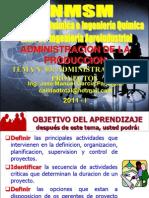 TEMA 01 - ADMINISTRACION DE PROYECTOS