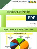 Energias Renovaveis No Brasil