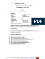 Silabo_Informatica e Internet - Slco-SERGIO de LA CXRUZX ORBE-2011