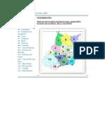 Mapas das Microrregiões de Goiás