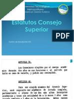 Estatutos Consejo Superior