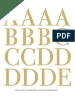 Banner Alphabet Ewehooo