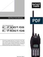 IC fF30GS Manual