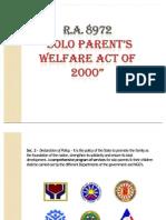 Solo Parent Act