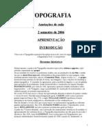 TOPOGRAFIA Notas de Aula 2006.2 Introduo