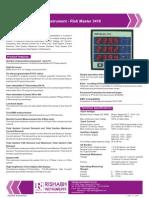 RISHMaster 3410 - Digital Multifunctional Instruments