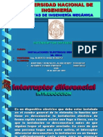 Interruptor Diferencial
