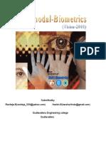 Multimodel Biometrics