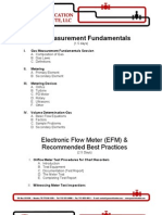 Gas Measurement Fundamentals & EFM