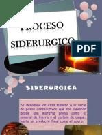 PROCESO SIDERURGICO