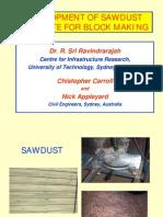 Sawdust Concrete