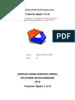 Transistor Laporan - Teknik Konversi Energi Polban