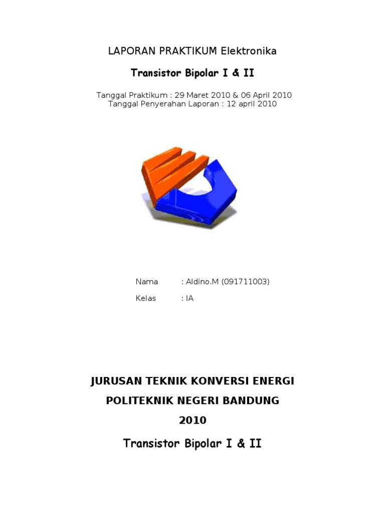 Transistor laporan teknik konversi energi polban ccuart Choice Image