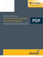 20 Tips for Improving Email Programs