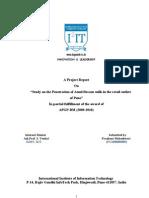 A Final Project Report Prashant