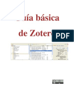 Guía básica de Zotero (Biblioteca de la Universidad de Las Palmas de Gran Canaria)