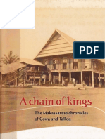 chain of king-makasar chronicle