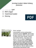 biotek pertanian