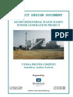 4 MW Biomass Project Report