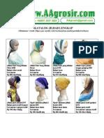 Jual Grosir Jilbab Kerudung murah Model Terbaru 2011 Www.aagrosir.com Katalog 12 Juni
