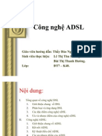Cong nghe ADSL