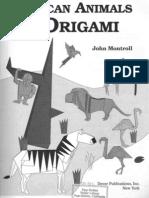 Origami African Animals