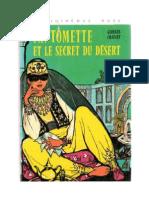 Fantomette et le secret du désert Georges Chaulet
