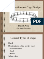 Considerations on Cage Design