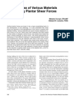 Effectiveness of Various Materials