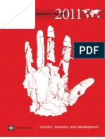 World Development Report 2011 Conflict Security and Development