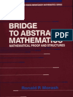 Bridge to Abstract Mathematics Mathematical Proof and Structures
