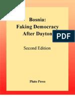 Book Chandler Bosnia Faking Democracy After Dayton