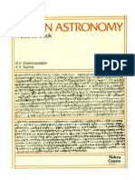 Indian Astronomy-a sourcebook