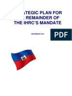 Stategic Plan for the Remainder of ICRH Dec 2010