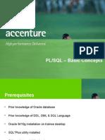 Accenture Plsql