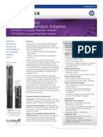 Emulex Datasheet HP Dualport 10GbE Flexfabrix Adaptor