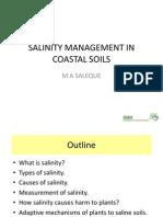 Saleque Salinity