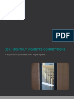 2011 Monthly Vignette Competitions