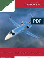 Learjet 60 specification