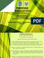 Pembentukan Konselor Sebaya Tangsel 2011