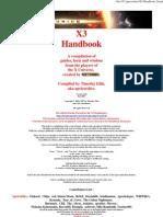 X3 Handbook 2
