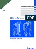 _Instrucciones_para_el_usuario_8200vector_0,25-11kW_v4-0 ES