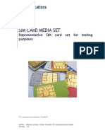 p3 Communications Sim Card Media Set