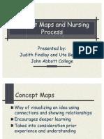 Concept Maps and Nursing Process Judith 2005